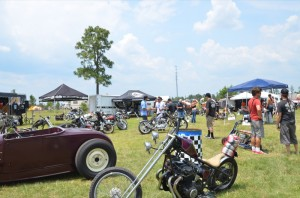 The custom iron provided plenty of eye candy at Smoke Out XII