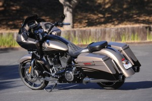 The CVO Road Glide Custom returns for 2013 with a majorly pumped-up sound system—and look, Ma, no pesky whip antenna