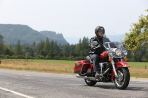 Classic comfort and styling on the 2013 Road King