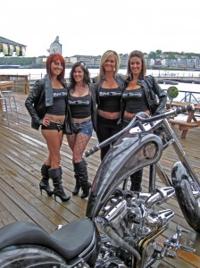 The Full Throttle ladies at the 6th annual Lake of the Ozarks BikeFest