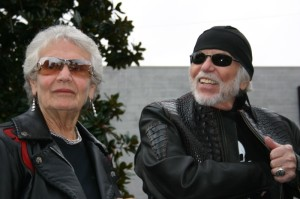Nancy and Willie G. Davidson have become Love Ride regulars