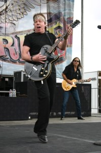 George Thorogood rocked the stage to a packed audience at Castaic Lake
