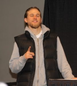 Charlie Hunnam of Sons of Anarchy