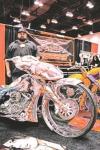 Cameron Jurow from CamTech proves there are no limits to extreme bagger bodywork