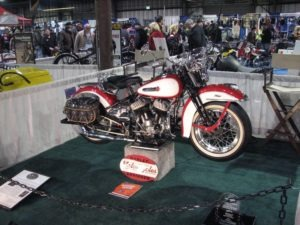 Rick Fetrow's 1947 WLA took first place in the American Antique 1948 and Older class