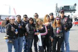 The Spartan Cruisers MC from Harlingen  rode to the island for the weekend
