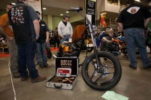 The Eden High School Chopper Class' build is powered by a 500cc Buell Blast! engine