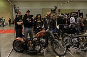 "Kevin ""Teach"" Baas with some of the students from his Kennedy High School Chopper Class"