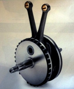 """Whether cast (stock) or forged (Screamin' Eagle), modern H-D crankshafts are three-piece affairs pressed together at something like 20 tons of force at an interference fit of five- to seven-thousandths of an inch. This should be more than enough strength for any realistic use you can think of, and rumor has it they have even been recently improved. That said, somehow a few are known to have shifted the individual flywheel halves where they fit on the crankpin—a phenomenon known as """"scissoring."""" No one seems to know the true cause, but opinions abound. Of these, the only one that's invalid is that the cranks are """"junk."""" In fact, they are the best ever… so something else is responsible for the problem."""