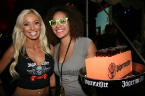 Ice-cold Jägermeister was circulated to the masses during evening concerts. We can no longer claim to have never tasted the stuff.