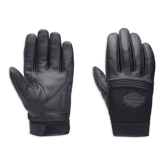 Harley-Davidson Blackoak Gloves with TouchTec