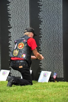 21st annual Salute to American Veterans Rally - Wall