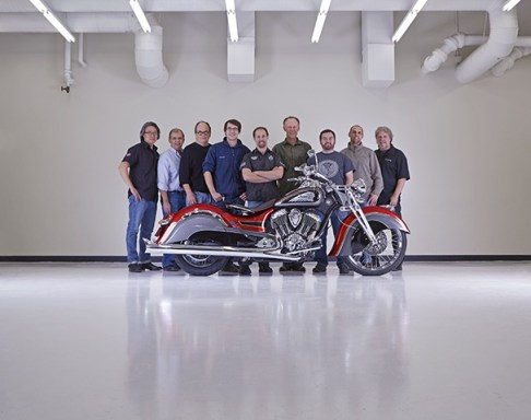 Indian Motorcycle Industrial Design Staff