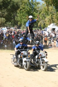 The VMMC leaves the audience in awe while performing their signature stunts