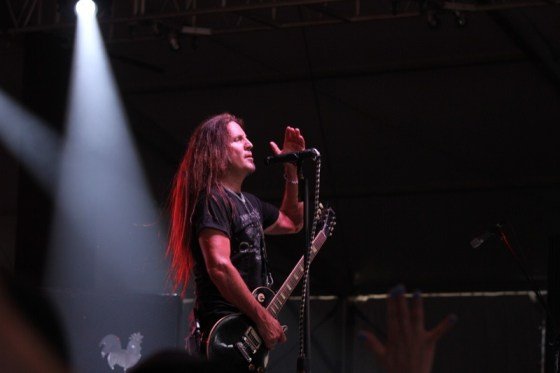 Jesse James Dupree of Jackyl rocked the crowd Thursday night at the Inlet