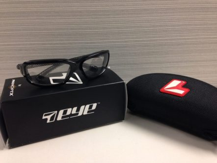 """""""Marin"""" Black Carbon riding glasses from 7eye by Panoptx"""