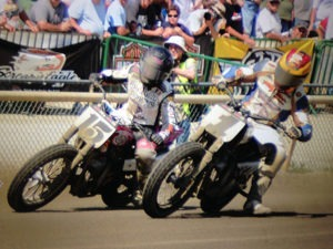 Nichole Mees (#15) and Jared Mees