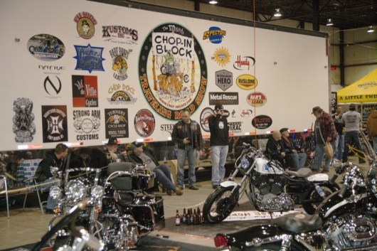 Chop-in Block hits it at the Mt. Clemens MC Show