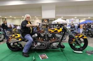 Crazy John Markwald and the dual-motor machine that took first place in the Special Interest class