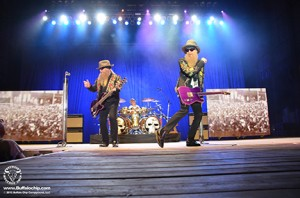 ZZ Top headlines the lineup on Wednesday, Aug 6th at the Buffalo Chip