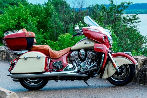 The 2015 Indian Roadmaster will be a featured in the Indian Motorcycle demo fleet located at Exit 30 of Interstate 90 in Sturgis