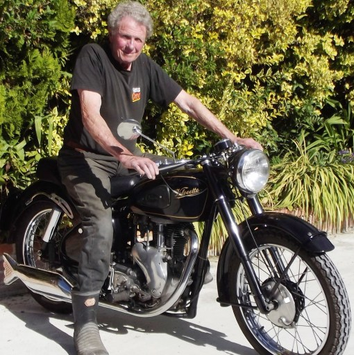 John Munro, the son of legendary land-speed racer  Burt Munro, will be at the 74th annual Sturgis Rally