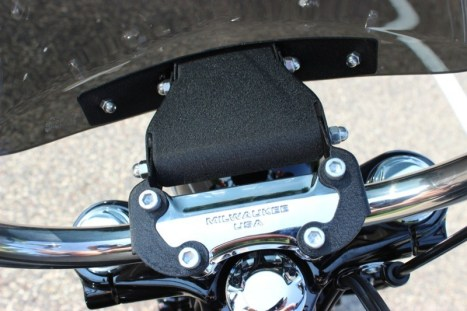 National Cycle Gladiator Windshield for FXDB