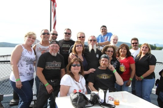 """The Cozy Inn crew are repeat """"sailors""""  on the M/S Mt. Washington cruise every year"""