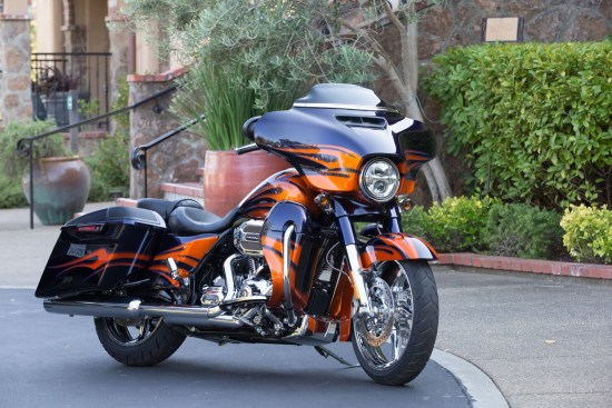 The Street Glide gets outfitted with CVO pageantry for 2015 The CVO Road Glide Ultra comes loaded with Tour-Pak, lower fairings and an extended