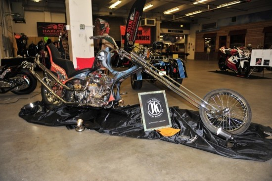 Best of Show winning chopper by Hog Killers