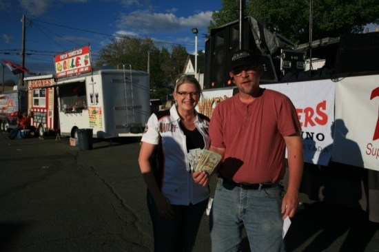 Laura Walsh of Reno won Saturday's $1,000 poker run with four kings