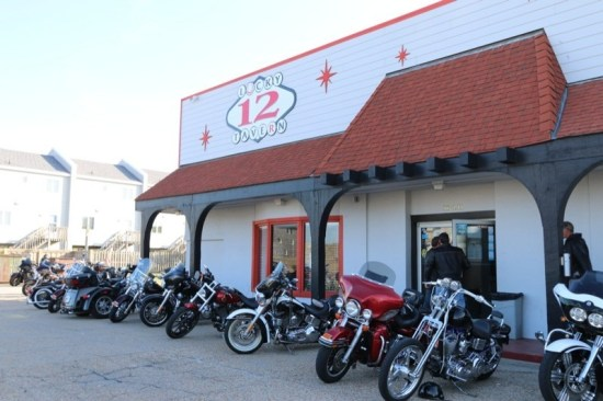 Lucky 12 Tavern, with its fabulous bartenders and top-notch entertainment, is a favorite stopover for riders during OBX Bike Week