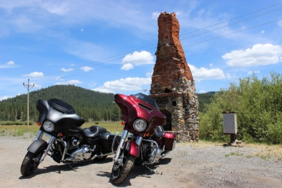 """A quick stop at """"The Chimney"""" alongside Highway 36 just outside of Westwood offers great photo ops with views of Goodrich Mountain to the north and Mountain Meadows Valley and Reservoir to the south"""
