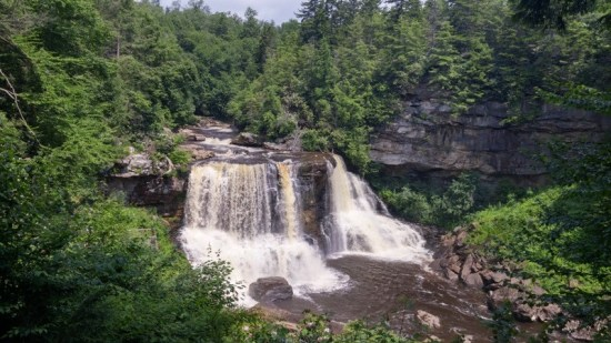 Blackwater Falls was a powerful spiritual experience for both Thundercloud and me