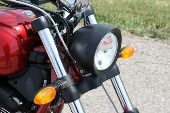 Cool new headlight housing complicated by a mess of wires and cables