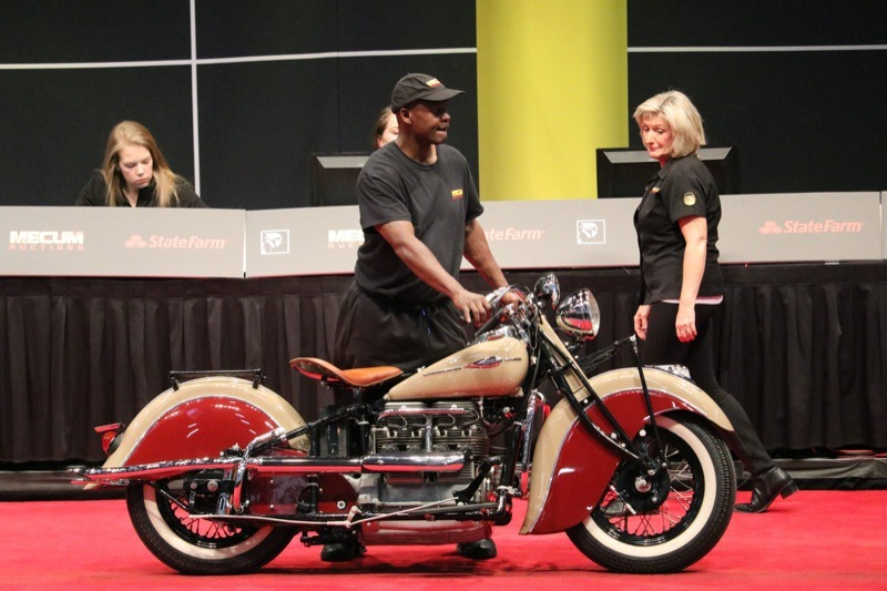 Purchased by G. Wiley from Texas, this Indian 441 was restored by Pete Bollenbach in the early 1980s. The motor was rebuilt by Dick Davies and shows less than 2,000 miles since its refurbishing. The 441 represents the last full year of production for this model.