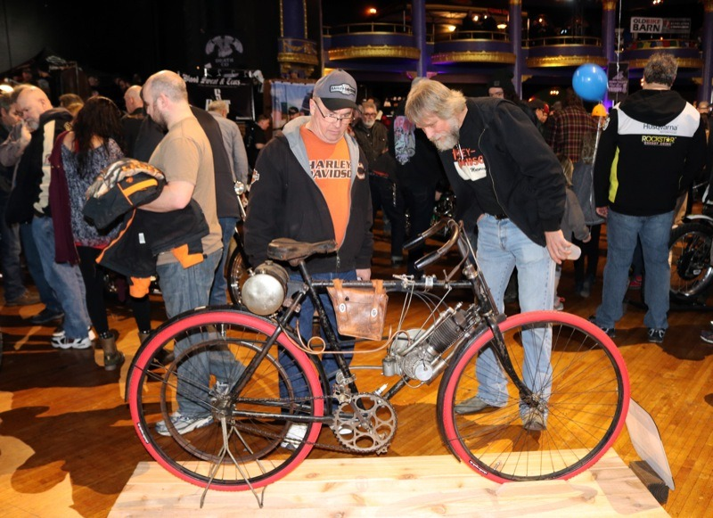 Every bike captured the viewer's imagination. Some even had attendees scratching their heads.