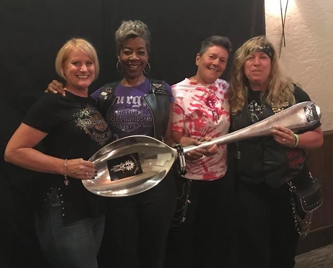 Best spoon story told by Shelley Beetler, Jackie Cliett, TJ Pillsbury, and Trish Carlson (LOCAL chapter)