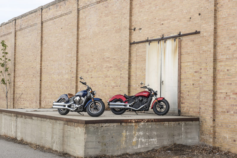 2019 Indian Scout Lineup