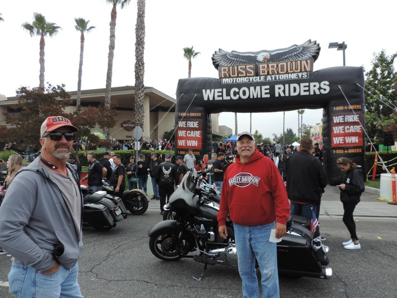 Riverside Harley-Davidson and Russ Brown welcome riders from all over the west coast to West Coast Thunder