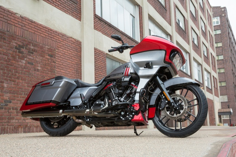 """A shark-nose, frame mounted fairing coupled with killer paint graphics and 117"""" of M-8 power for the 2019 CVO Road Glide… it don't get no better"""