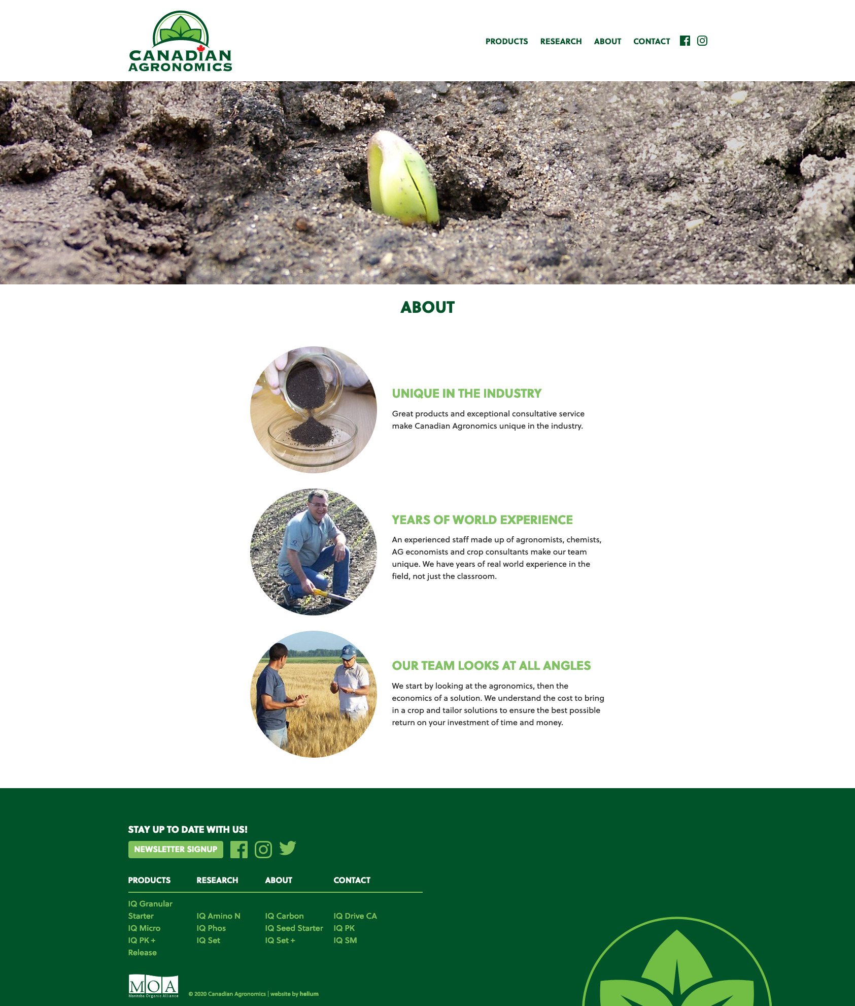 CAG Homepage Desktop
