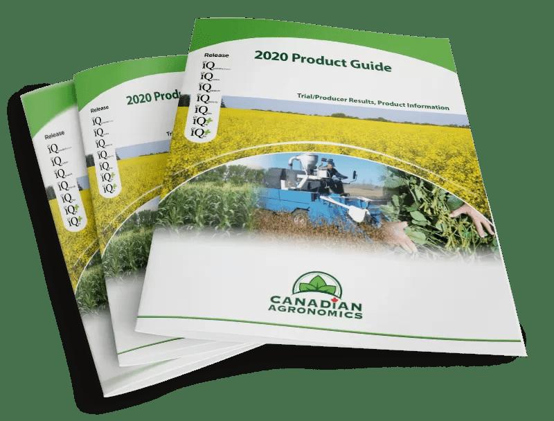 Mockup image of Canadian Agronomics brochures