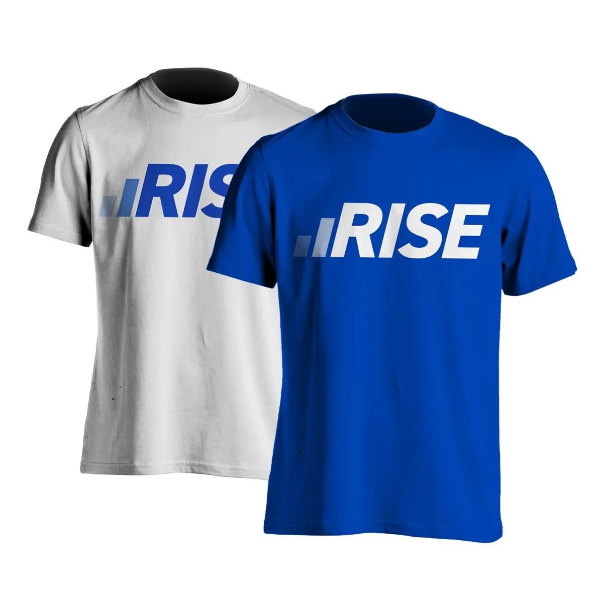 Rise TShirt Mockup
