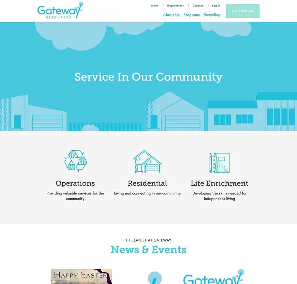 gateway web page 2
