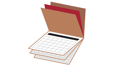 print icons calendars