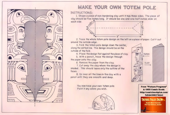 make your own totem pole