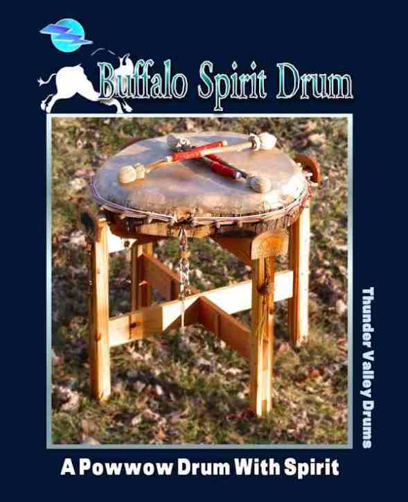 Buffalo Spirit Drum from Thunder Valley Drums