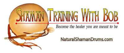 Shaman training with Bob from Thunder Valley Drums