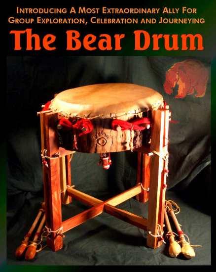 finished powwow drum